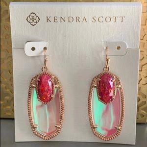 ISO KS Berry Kyocera Opal Emmy Earrings